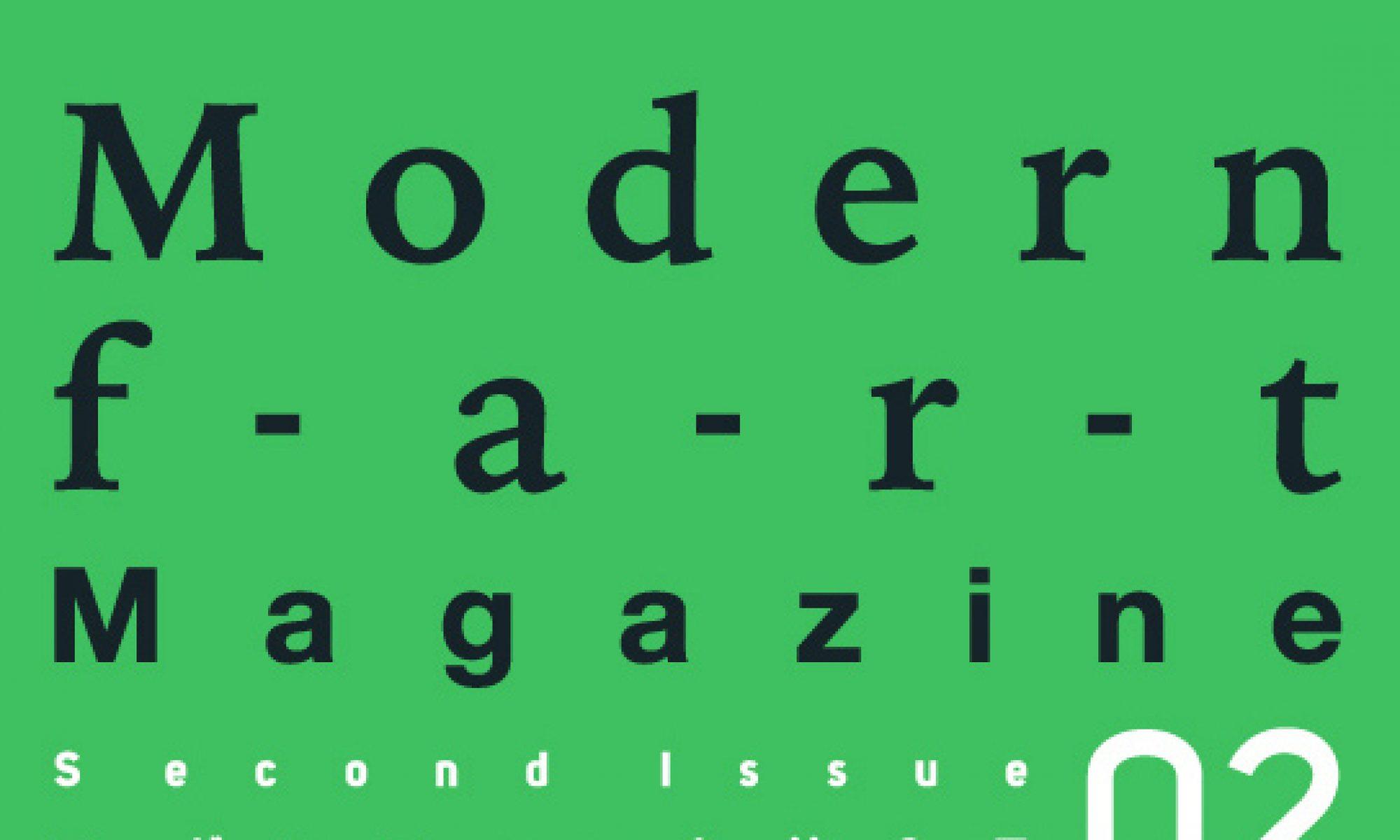 modernfart magazine
